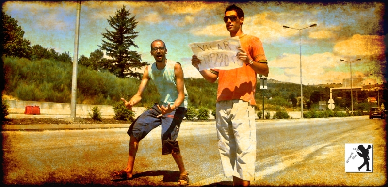 Hitchhiking in Guarda - MISSION IMPOSSIBLE