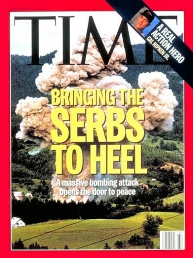 time - bombing serbia