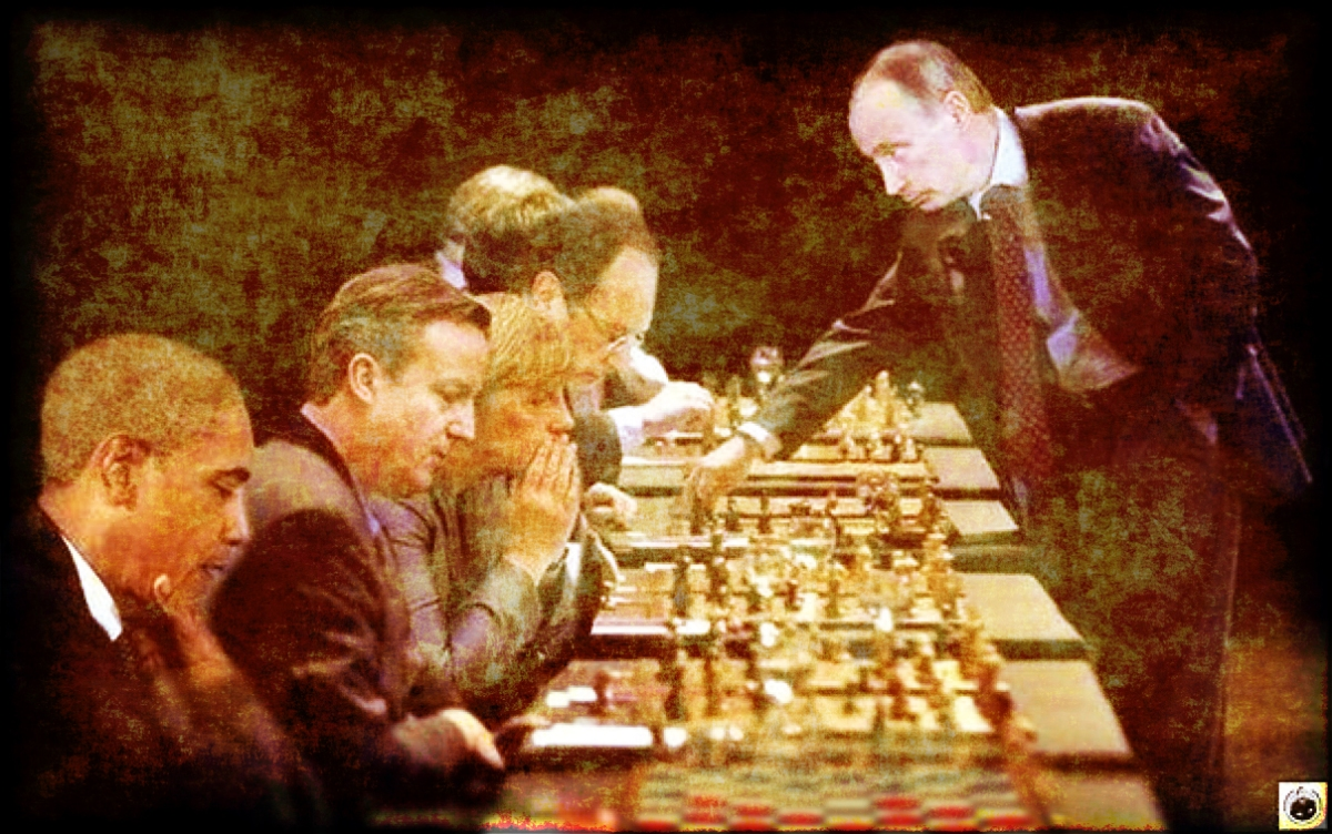 Putin, o mestre da diplomacia-xadrez